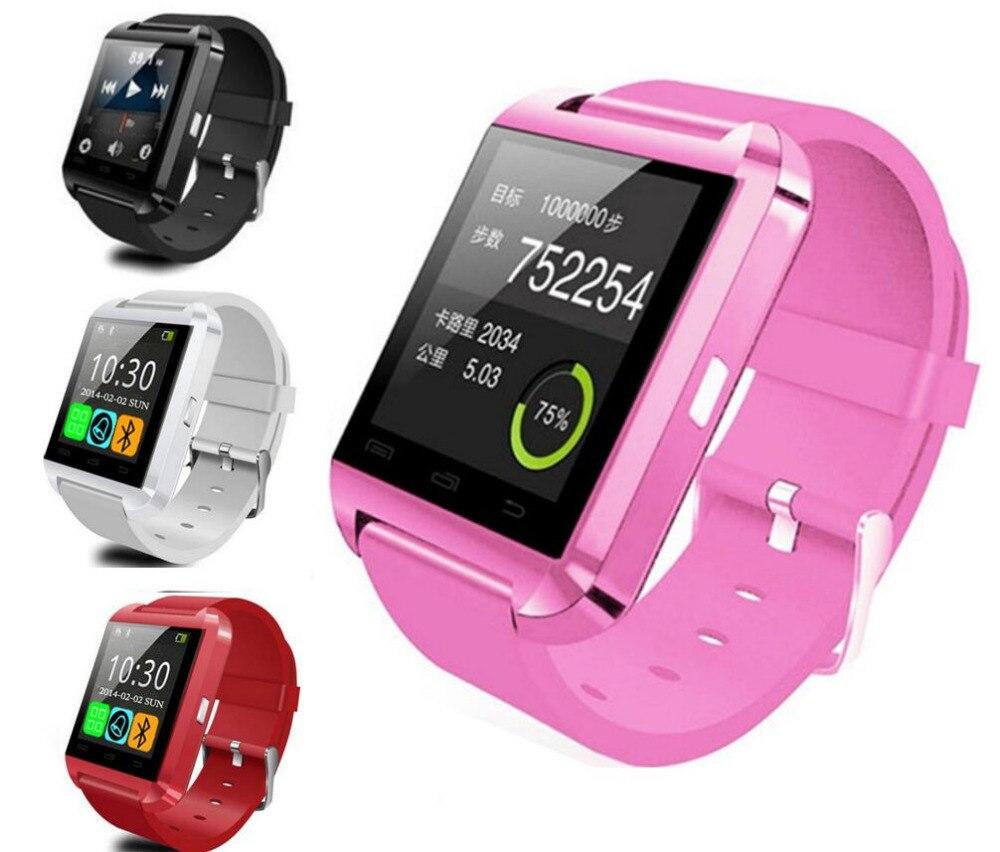 6 colors Bluetooth font b Smart b font font b Watch b font U8 Smartwatch U