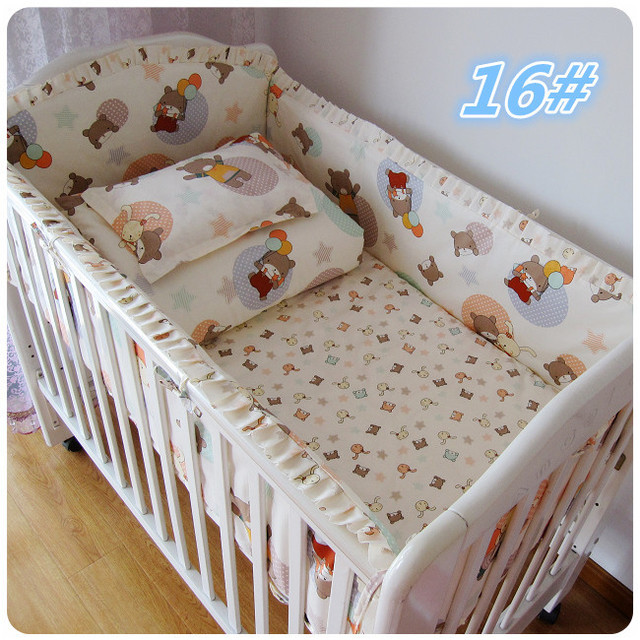 Wholesale & Retail 100% Cotton Baby Bedding Set Hot Sale Bed Product for Newborn Boy/Girl Excellent Quality Fashion Baby Bed Kit