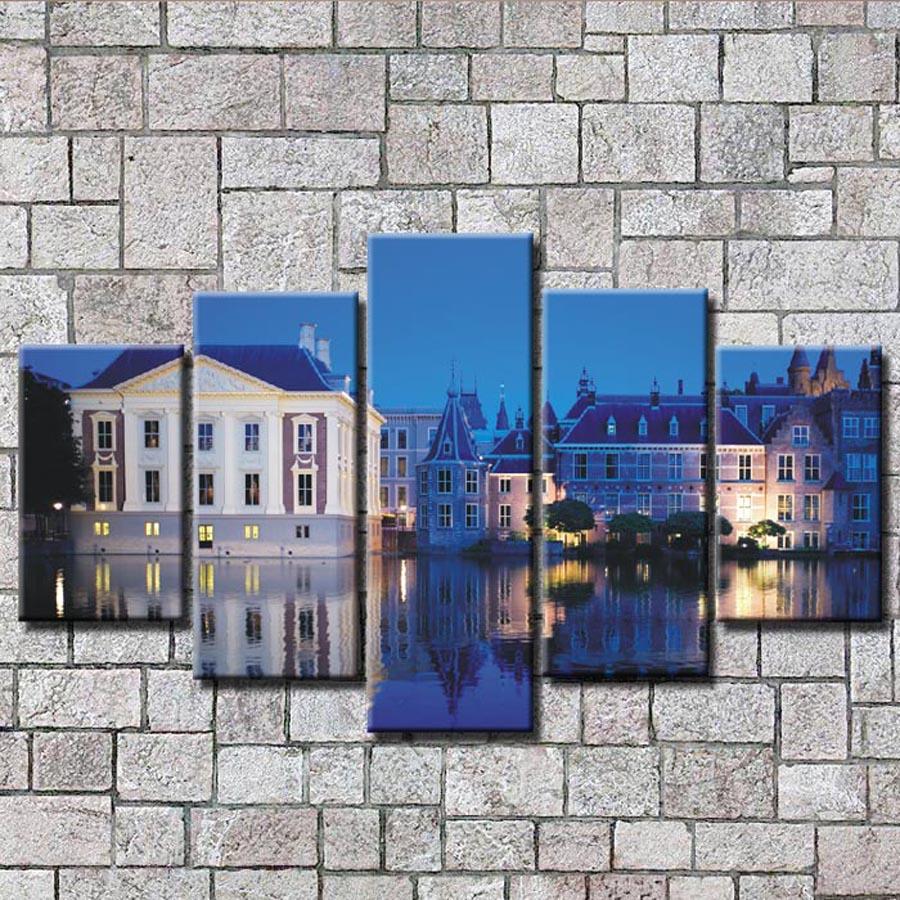 Online kopen wholesale blauw slaapkamer pictures uit china blauw ...