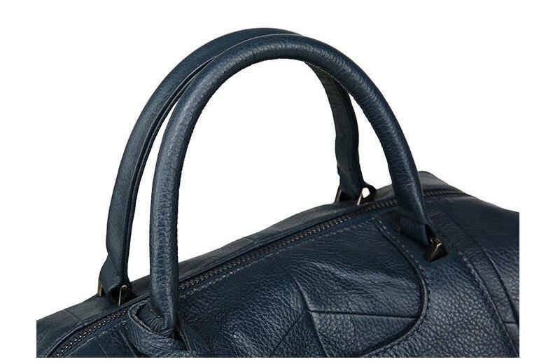 MJ Women Genuine Leather Handbag Female Real Cow Leather Tote Bag Ladies Large Capacity Shoulder Bag Crossbody Bags for Women (19)