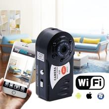 Q7 Мини Wi-Fi видеорегистратор Камера Регистраторы Беспроводной Wi-Fi ip видеокамеры Ночное видение Камера с микрофоном