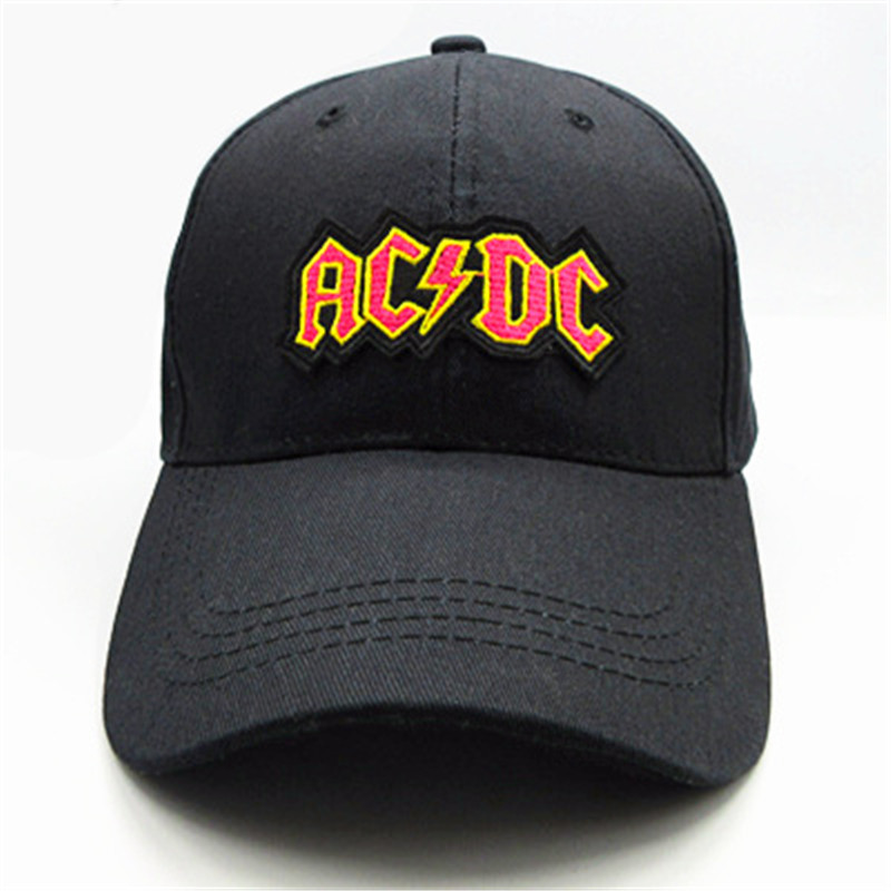 ACDC letter embroidery cotton Casquette Baseball Cap hip-hop cap Adjustable Snapback Hats for kids men women 41