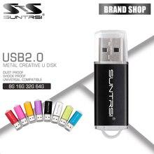 Suntrsi карту флэш-памяти с интерфейсом usb высокоскоростной 64 г USB2.0 Флеш накопитель 32 ГБ 16 ГБ 8 ГБ 4 ГБ memoria интерфейсом USB для Планшетный ПК флешки бесплатная доставка