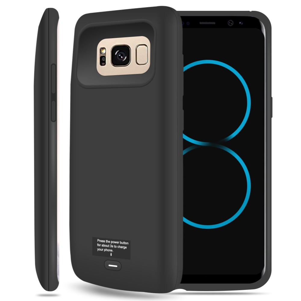 For Samsung galaxy S6 S6edge S7 S7edge S8 S8Plus Battery Case Rechargeable Power Bank Backup External