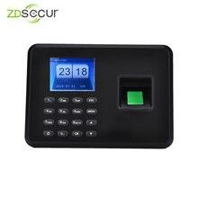 Низкая цена регистратор времени с дактилоскопией с USB флэш-накопителем непосредственно для загрузки 31 дней отчет об посещаемости ZDA2