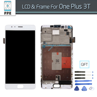 Original Phone LCD Screen For Oneplus 3T A3010 LCD Display One Plus 3T LCD Screen Panel