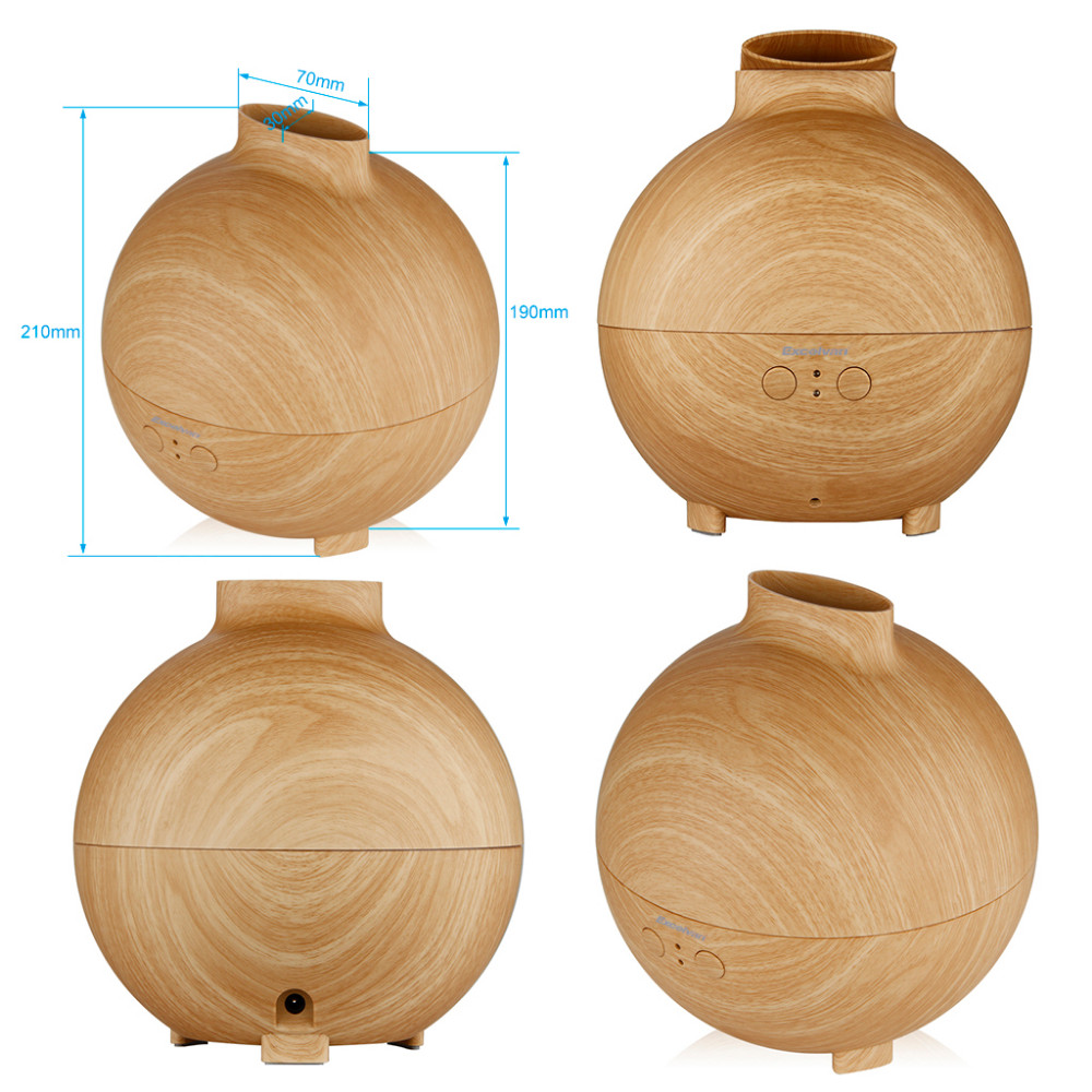 142638201_10_Excelvan Essential Oil Aroma Diffuser Ultrasonic Humidifier Air Mist Aromatherapy Purifier Woodgrain Model 20006A EU