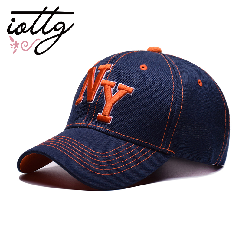 IOTTG High Quality Fashion Design Embroidery Baseball Cap Men Hip Hop Caps Sports Sun Snapback Hat Trucker Hats For Women