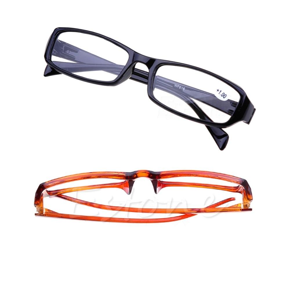 1 Pc Von Schwarz Braun New Comfy Lesebrille Leser Presbyopie + 1,00 Zu 4,00 Dioptrien Oculos De Grau Oculos Leitura