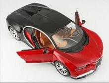 Maisto 1:24 Alliage Moulé Sous Pression Modèle De Voiture Bugatti Voiture de Sport 1/24 Statique véhicule modèle De Voiture Enfants Jouets De Noël Cadeaux Collection