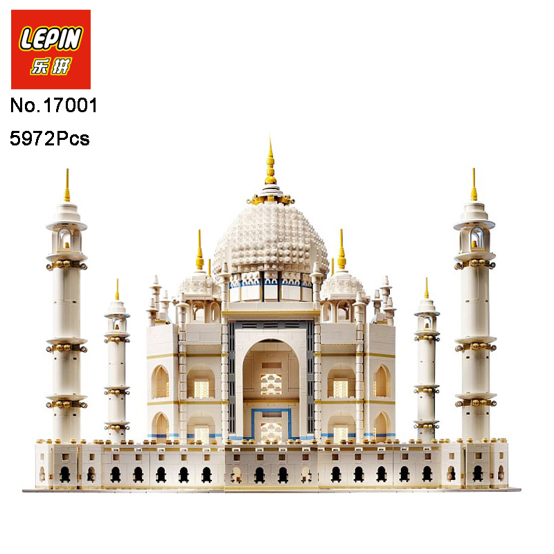 LEPIN 17001 5952pcs The Tai Mahal Model Building Kits Building Blocks Brick Funny Toys Compatible With 10189 Educational Gifts new lepin 17001 5952pcs the tai mahal