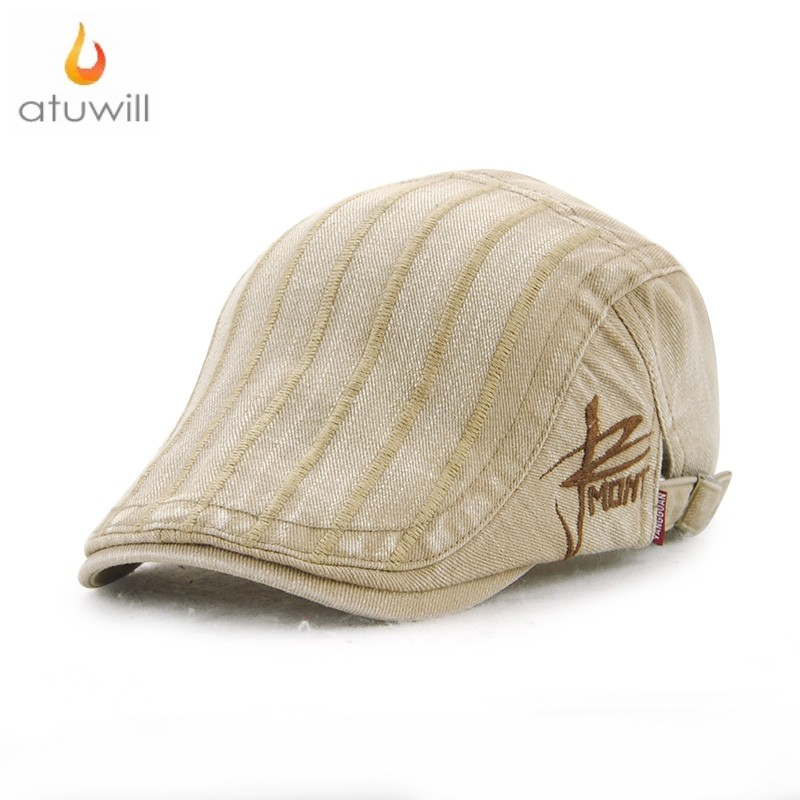 0ef9707e49bb4 Atuwill винтажные береты шляпа плоские шапки для мужчин остроконечные шоры  шляпа для женщин Boina Masculina Boina feminina берет Homme