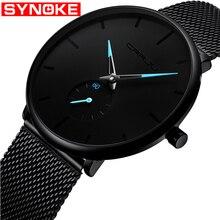 Top Brand Luxury Watches Men Stainless Steel Ultra Thin Classic Quartz Mens Wrist Watch Women Relogio Masculino