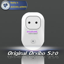 Orignal Orvibo Enchufe Del Zócalo Inteligente Orvibo S20 Teléfono Celular Wifi Teléfono de Control Remoto Inalámbrico de Energía Aparato Electrodoméstico Automatización