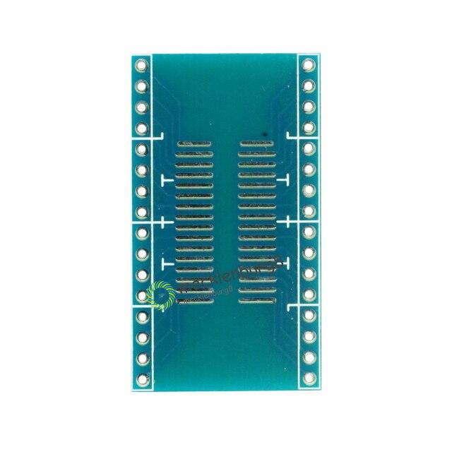 10 قطعة SOP32 إلى DIP32 1.27 مللي متر 2.54 مللي متر محول لوحة دارات مطبوعة تحويل DIY