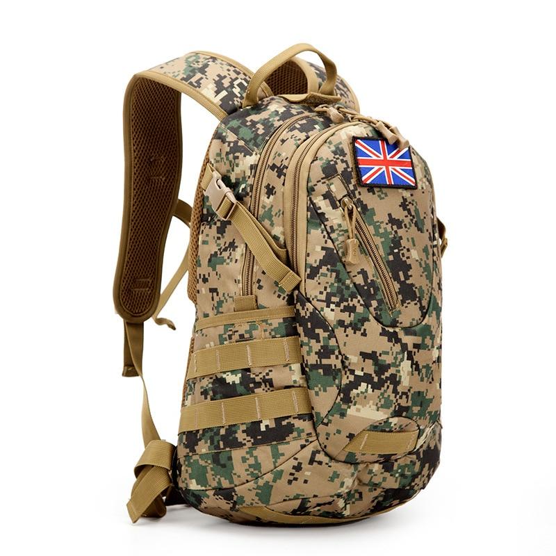 Sacs à dos professionnels en plein air hommes femmes sacs à dos militaires militaires multifonctions Camouflage voyage Camping randonnée sacs DSB53 - 3