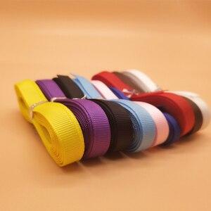 """9 шт./партия 9 видов цветов 3/8 """"Ширина тканевые ленты Высокое качество Grosgrain лента для DIY материал свадебные украшения подарочная упаковка"""