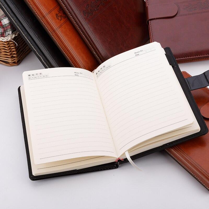 Notebook Schreibwaren Kommerzielle Notepad Kunstleder B5 A5 Starke ...