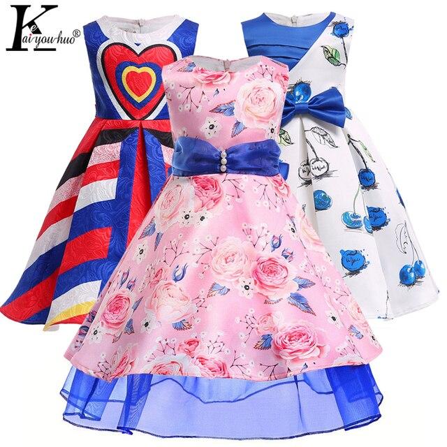 2018 niñas niños ropa verano partido boda Vestido princesa niños ...