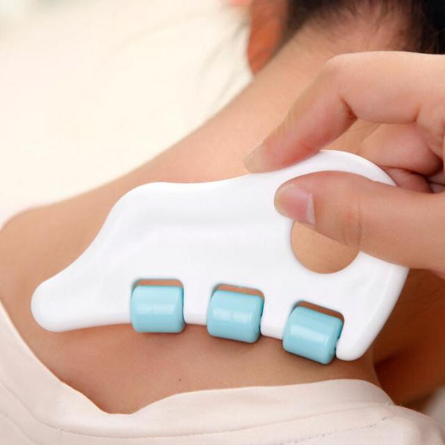 Gua Sha Back Massager Neck Face Massager Roller