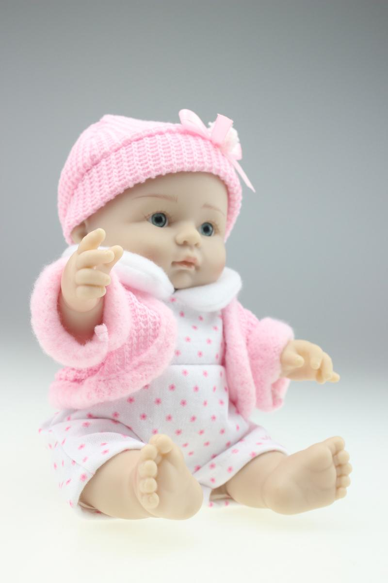 New 25cm Mini Toy Simulation Doll Baby Silicone Doll Baby Shower Doll  Christmas/Birthday Gifts For Children In Dolls From Toys U0026 Hobbies On  Aliexpress.com ...