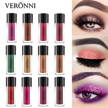 12 Color Glitter Eyeshadow single Loose Powder Eyes Makeup Rose Gold Cosmetics Matte Eye Shadow Pigments Nude Waterproof Powder veronni 12 color glitter eyeshadow single loose powder eyes makeup palette rose gold cosmetics waterproof powder eye shadow nude