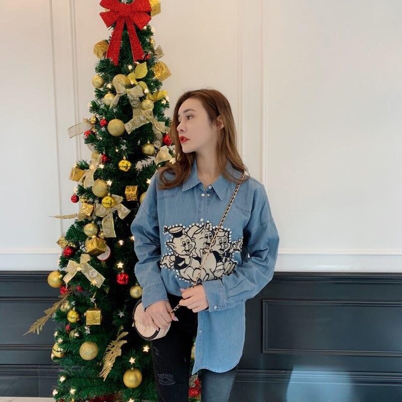 Модные женские блузы и рубашки 2019 взлетно посадочной полосы Элитный бренд Европейский дизайн вечерние Стиль Женская Костюмы WD12490