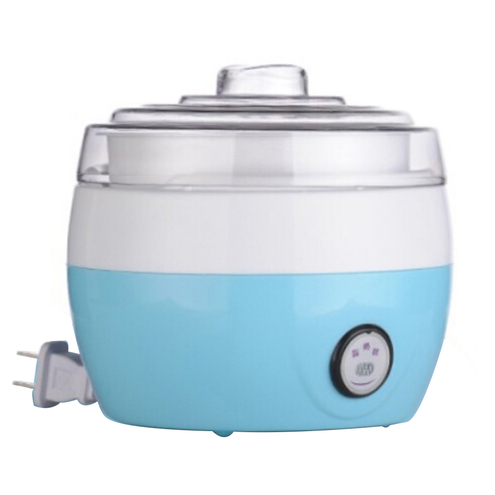Glantop Free Shipping Stainless Steel Liner Electric Full-automatic Yogurt Maker Natto Maker Yogurt Machine Breakfast free shipping of 1pc hss 6542 full cnc grinded machine straight flute thin pitch tap m37 for processing steel aluminum workpiece