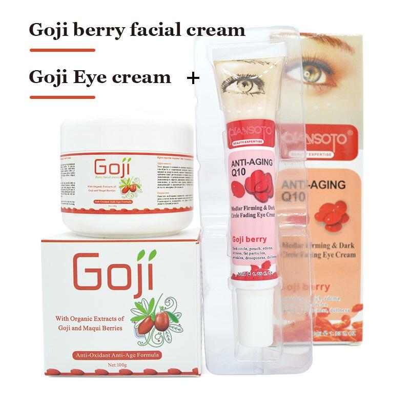 Goji goji Original crema de ojos crema facial crema Para Blanquear la cara cuida