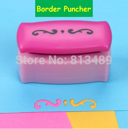 Free Ship Lace Paper Cutter Perfurador De Papel Border Punch Edge Lace Punch Card Make Paper Punches For Scrapbooking  R326