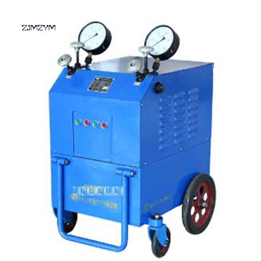 Nouveauté 2YZB4-80 pompe hydraulique de précontrainte pompe hydraulique 80MPa 80L 380 v/50 HZ 5000KN au-dessus de 4L/min 2*3 KW vente chaude