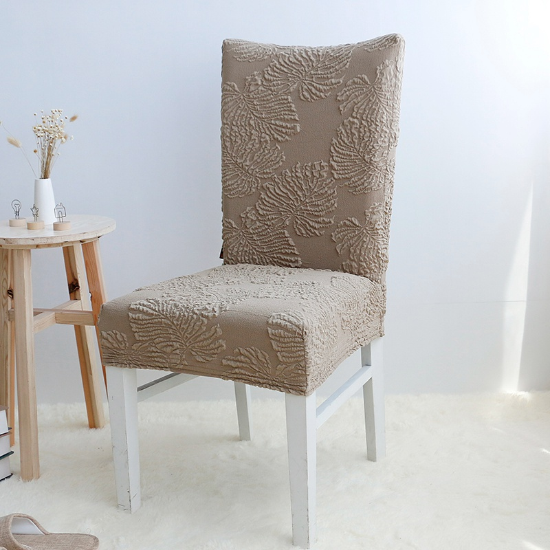 Wedding Chair Decoration Covering Office Cover Flower Pattern Elastic Dining Room Seat Protector Slipcover