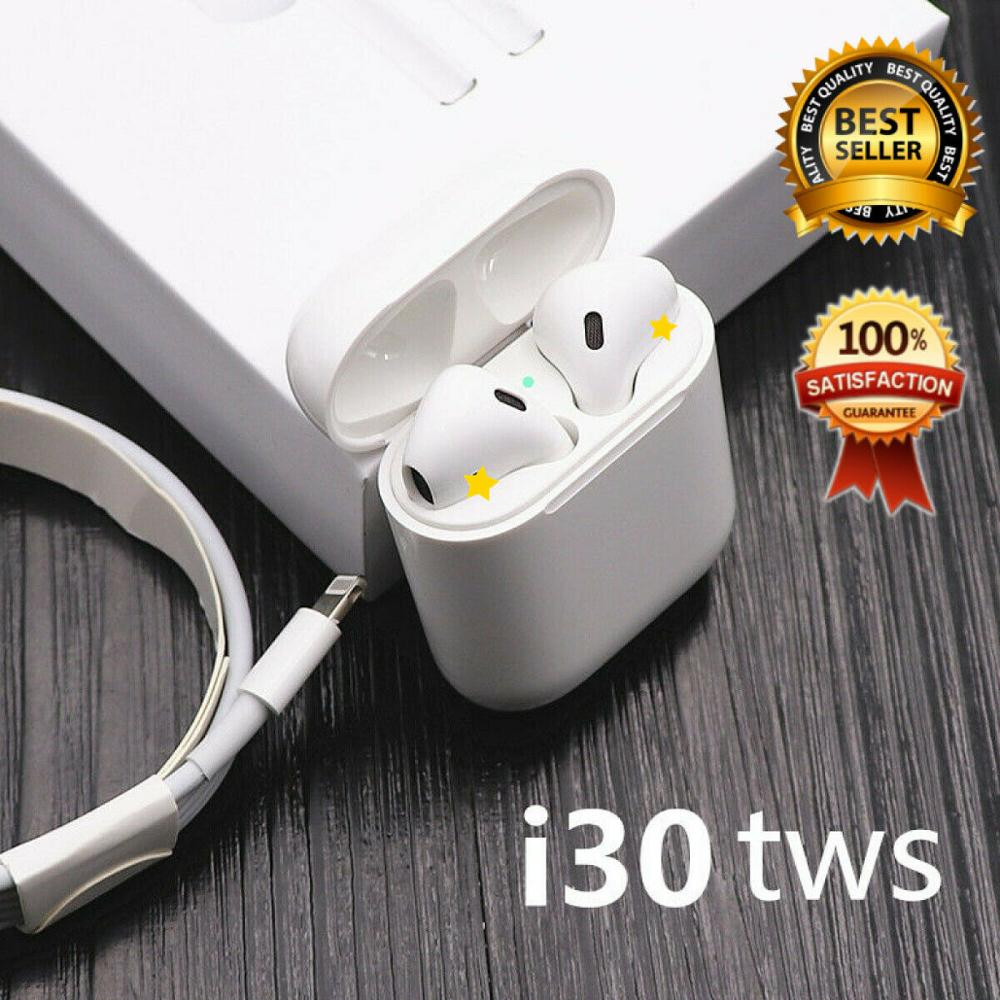 I30 tws Pop-up 1::1 Bluetooth 5.0 wireless headset 6D stereo subwoofer Bluetooth headset i30 tws PK W1 chip i10 tws i12 tws(China)