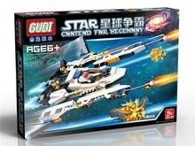 GUDI 8614 Star Wars Space War Cannon Artillery Minifigure Building Block 281Pcs Bricks Toys Compatible with Legoe