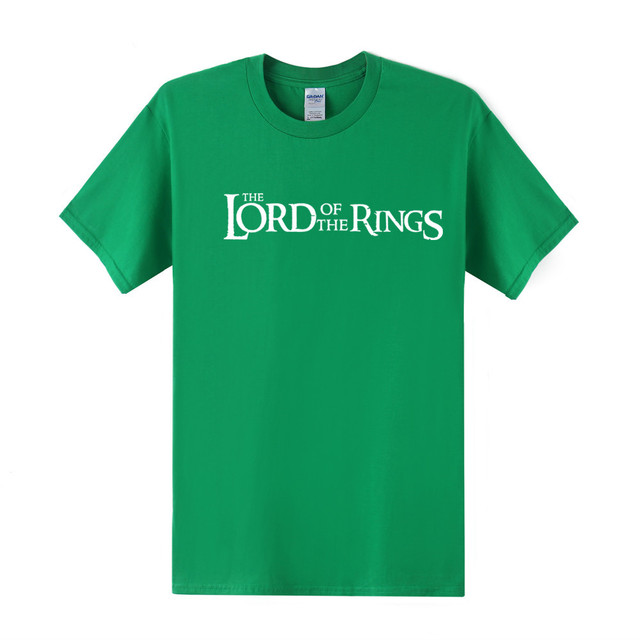 Lord of the Rings Cotton Men T-Shirt Various Colours