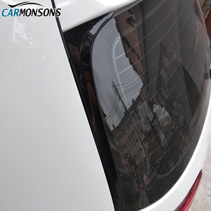 Image 2 - Carmonsons for Volkswagen Golf 7 MK7 Rear Wing Side Spoiler Stickers Trim Cover Accessories Car Styling