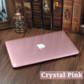 Crystal Case For Apple Macbook Pro/Air Retina Touchbar 11 12 13.3 15 Transparent Laptop Cover For Mac Air13 Touch Bar pro15inch