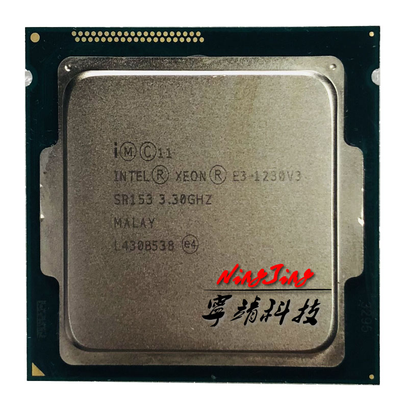 Intel Xeon E3 1230 v3 E3 1230 v3 E3 1230v3 3 3 GHz Quad Core CPU