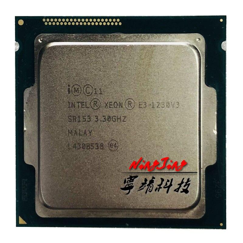 Intel Xeon E3 1230 v3 E3 1230 v3 E3 1230v3 3.3 GHz Processore Quad Core CPU 8M 80W LGA 1150-in CPU da Computer e ufficio su  Gruppo 1