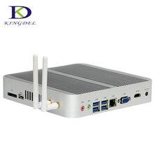 [6Gen Intel Core i5 6200U] Windows 10 Mini PC безвентиляторный Desktop 4 К HTPC Intel HD Graphics 520 HTPC TV Box Barebone неттоп pc WI-FI