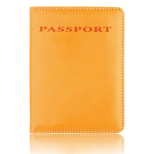 New Leather Passport Holder for Men Women RFID Card Holder Women's Travel Passport Cover Unisex Card Case Bag new pu leather passport cover holder women men travel credit card holder travel id card document passport holder