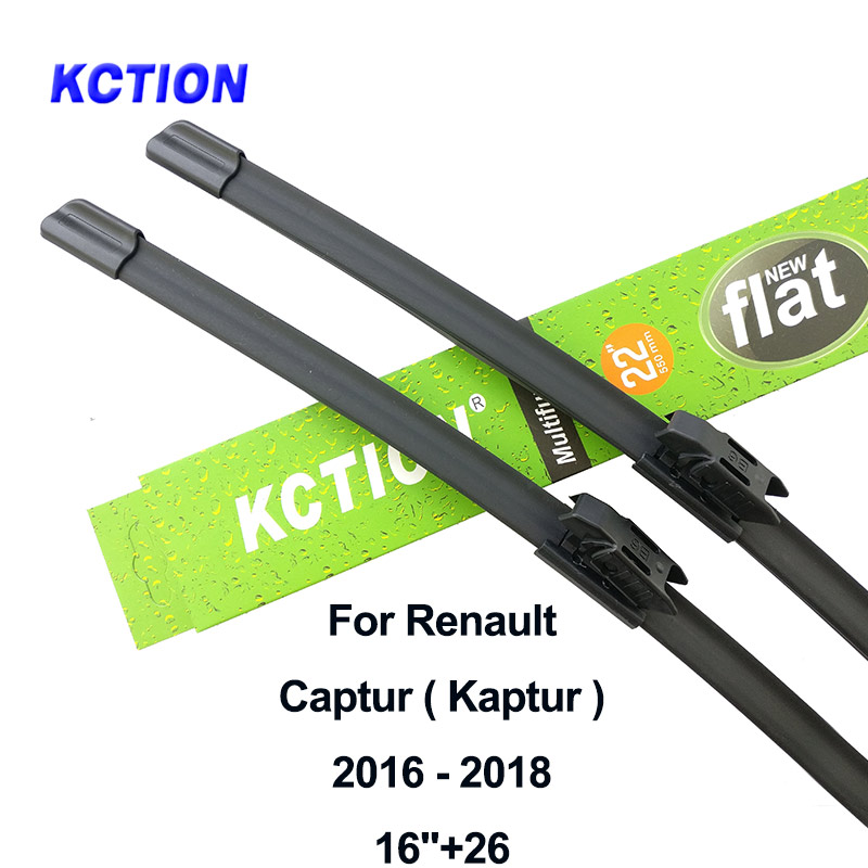 Windshield wiper blade para Renault Captur Kaptur brisas limpador traseiro acessórios do carro 2016 2017 fit Baioneta/pinch tab braços
