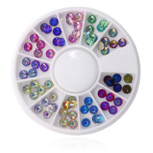 1Pcs 3D Nail Crystal Glitter Rhinestone Decoration