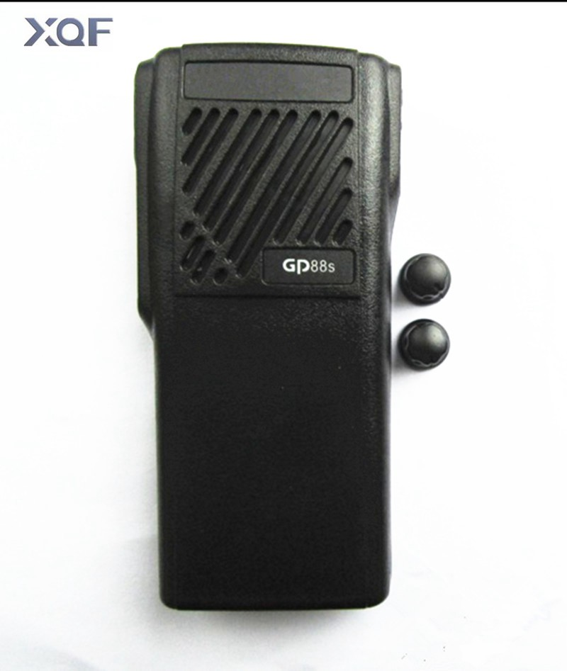 New Housing Case Front Cover Shell Surface +Knob Hat For MOTOROLA GP88S Two Way Radio