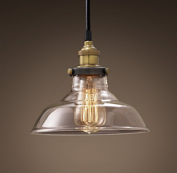 American style chandelier retro Mini industrial goods copper pendant nostalgia m