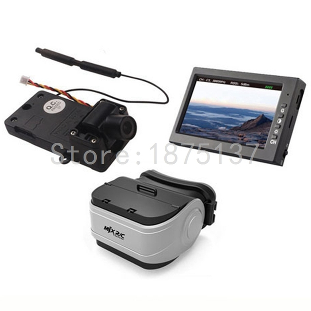 58G FPV Camera Monitor VR Goggles For MJX Bugs 3 RC Drone Quadcopter