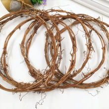 1 PCS/artificial flowers small bamboo vine wedding decoration DIY wreath wreath cane adornment material in the New Year(China)