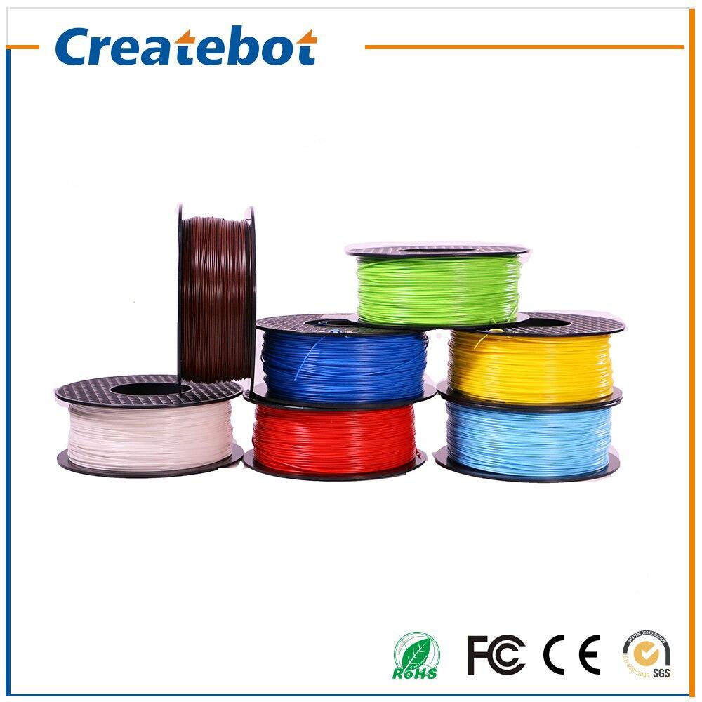 Impresora 3d abs filamento 1.75mm/3mm 1 kg material de consumo para createbot pl