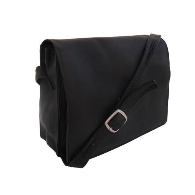 Piel 9032-BLK Black Small Handbag with Organizer футболка yi lin 9032 la