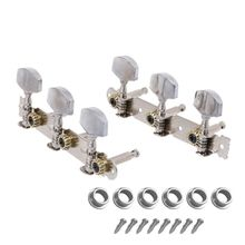 Metal Guitar Tuning Keys Pegs Classic Guitar String Tuning Pegs Machine Heads Tuners Keys Parts 3 Left 3 Right 1 set silver zinc alloy tuning pegs keys machine heads for acoustic guitar with lock knob